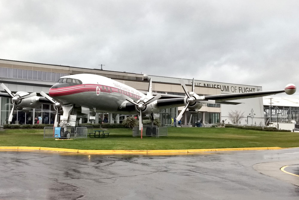 Seattle Museum of Flight - Pacific Northwest family trip
