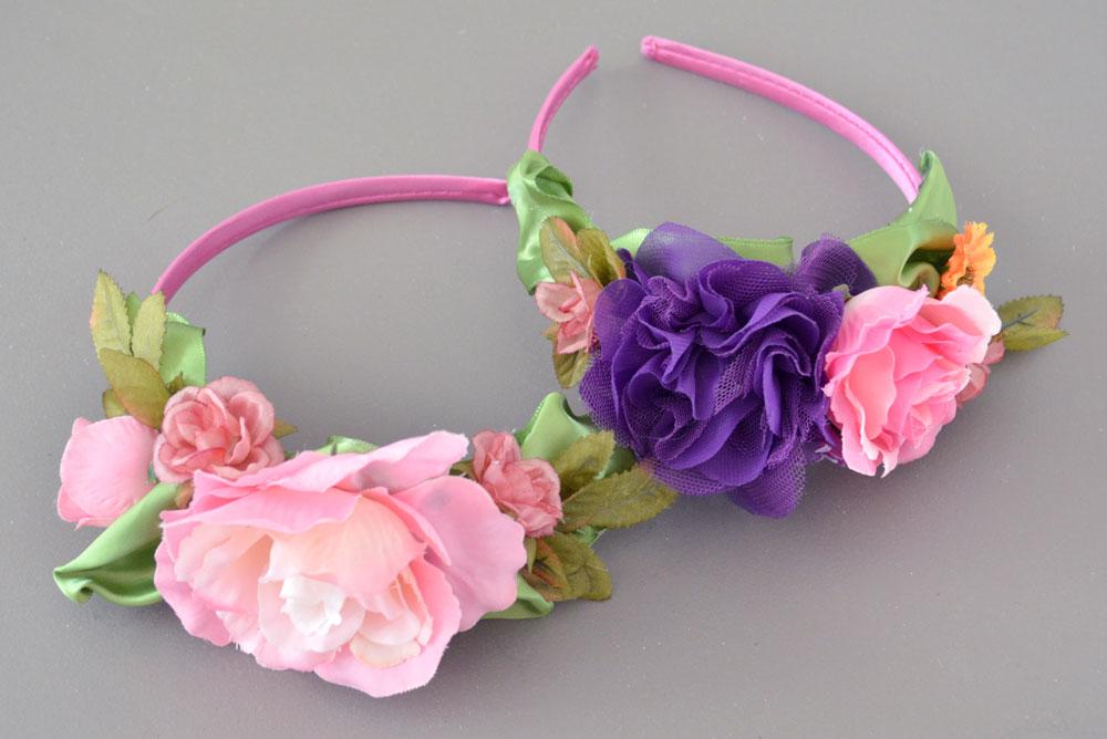 DIY flower headbands gift idea for girls - Mommy Scene