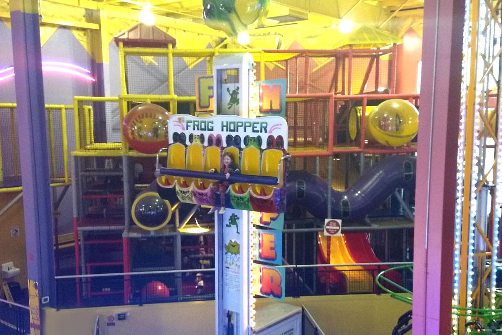 Tukwila Family Fun Center arcade Seattle visit - Mommy Scene