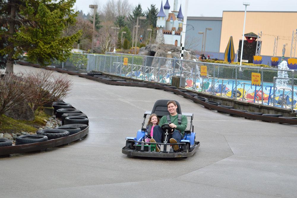 Tukwila Family Fun Center go karts - Mommy Scene