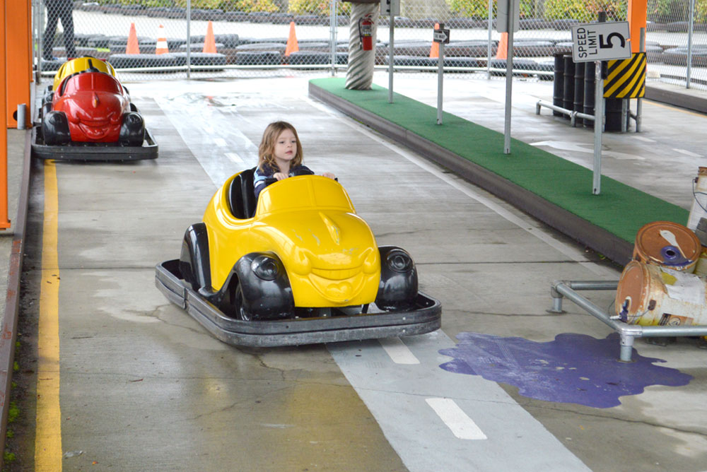 Tukwila Family Fun Center kids go karts - Mommy Scene