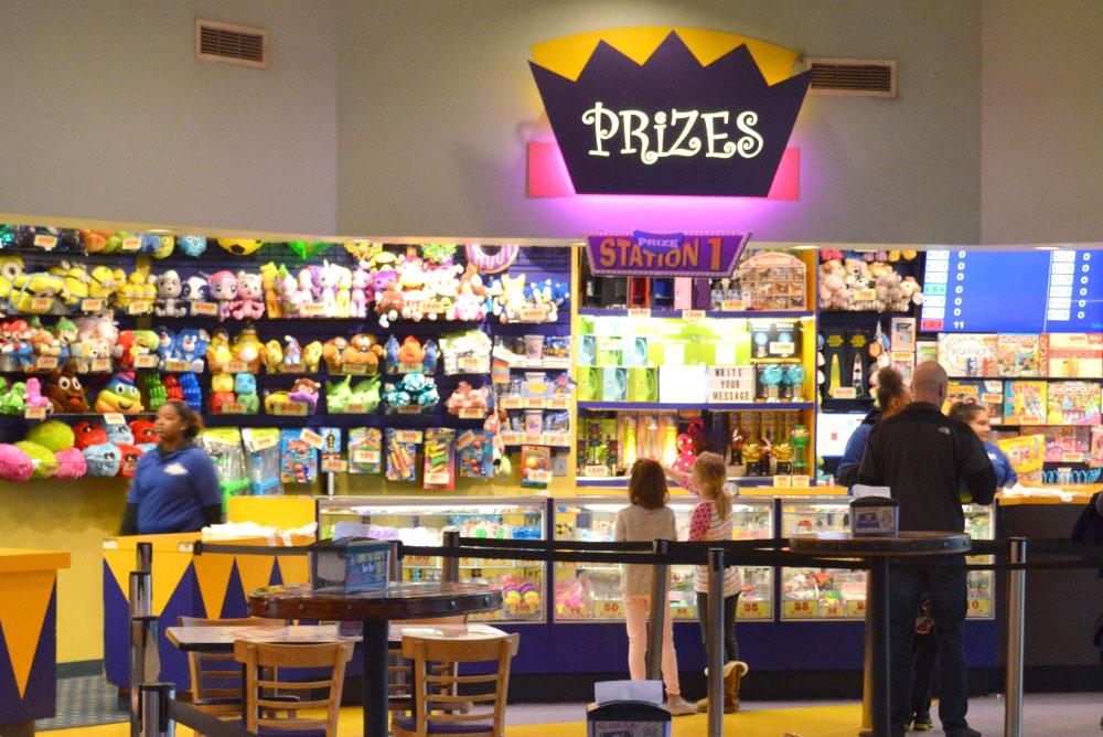 Tukwila Family Fun Center arcade prizes - Mommy Scene