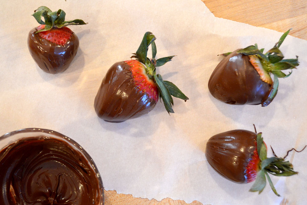 Chocolate covered strawberries secret tip