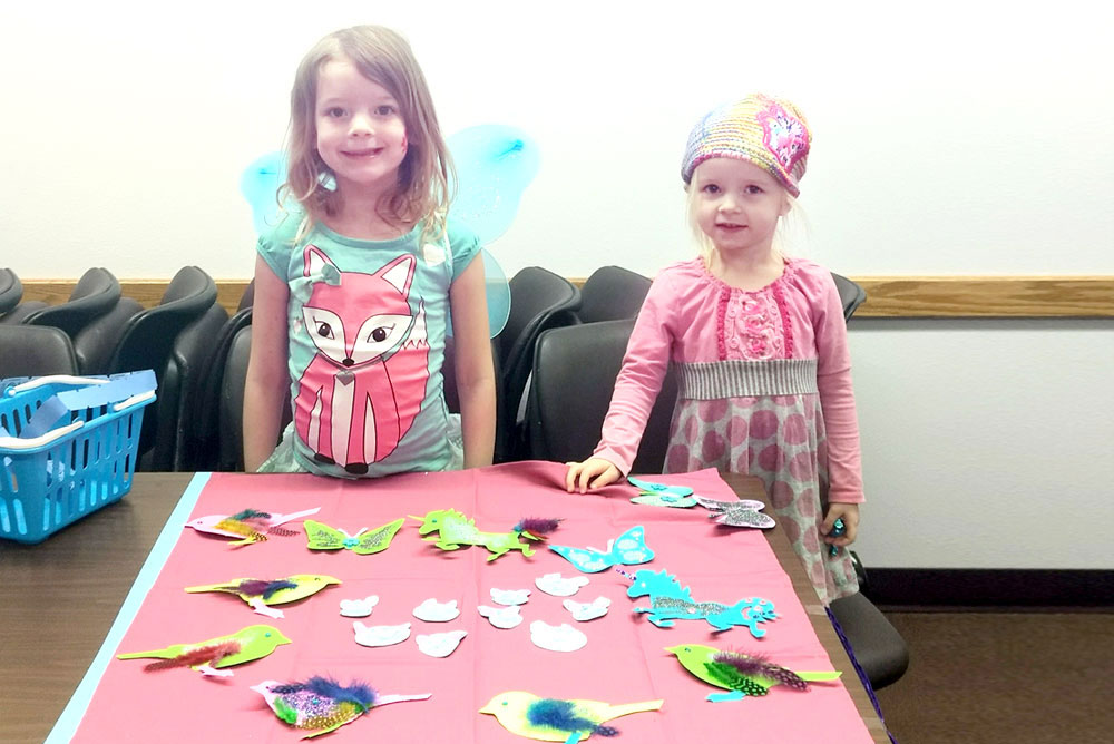 Hayden Library kids craft fair in Coeur d'Alene