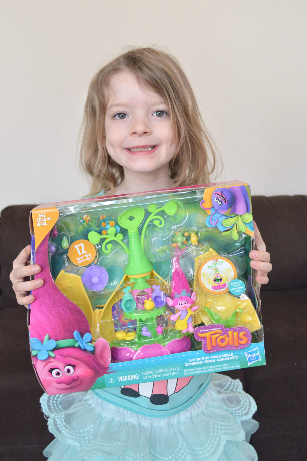 Princess Poppy trolls kids play set