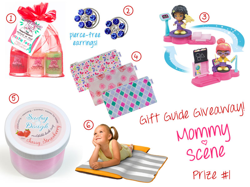 Cute & Girly - 2015 Holiday Giveaway Prize Set 1