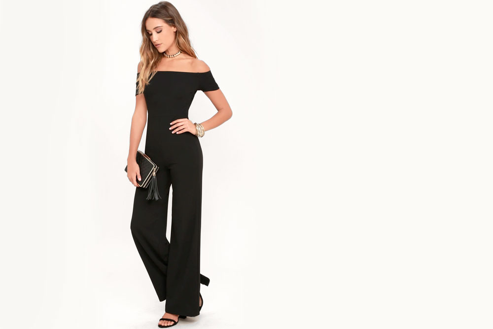 Prom Trends black jumpsuit outfit