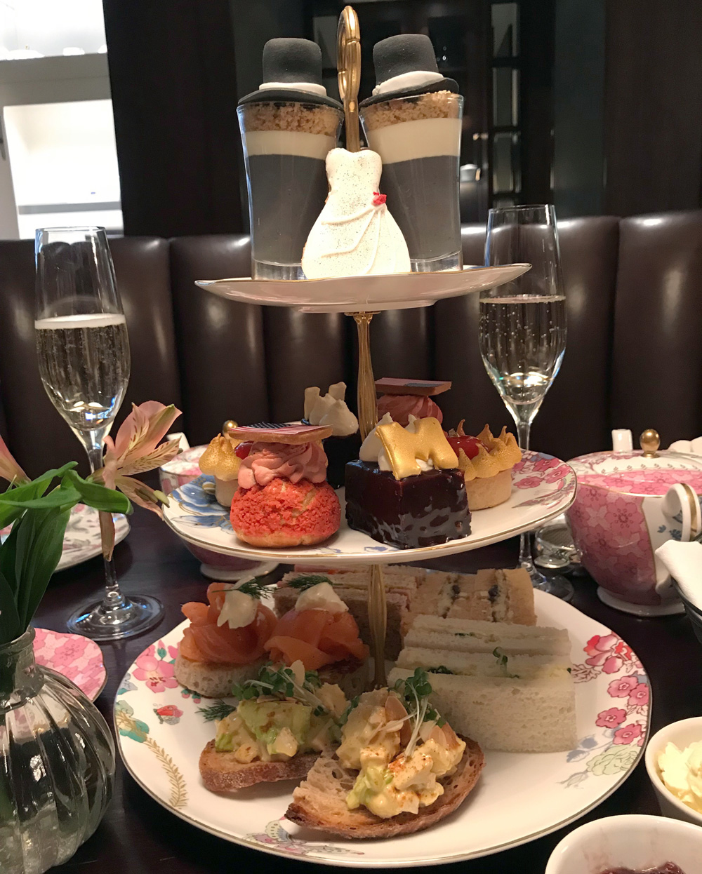 The Royal Wedding Afternoon Tea at The Arch London