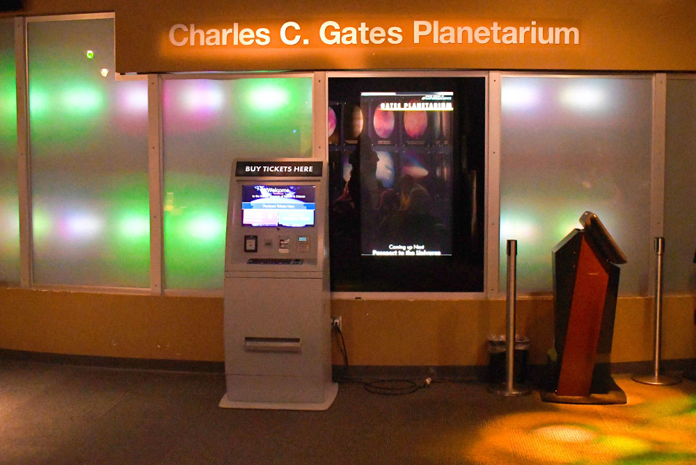Denver Museum of Nature and Science family visit Planetarium