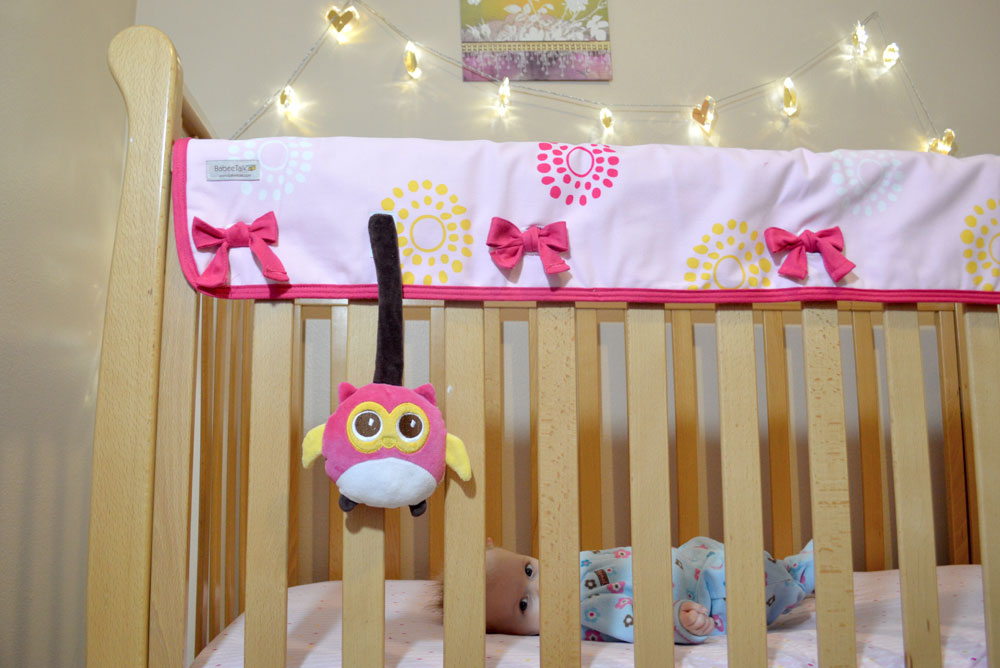 BabeeTalk Crib Rail Cover review
