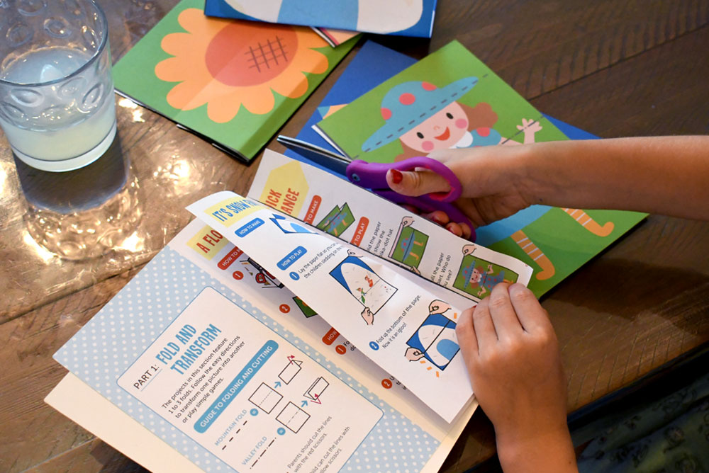 I Can Do That! Origami interactive kids workbook