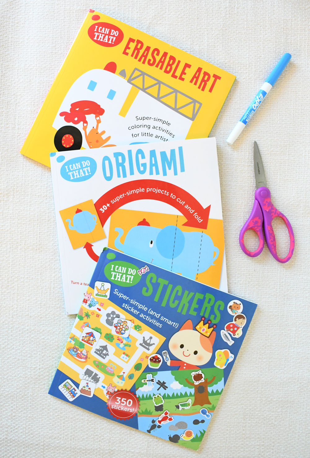 I Can Do That! interactive kids workbooks
