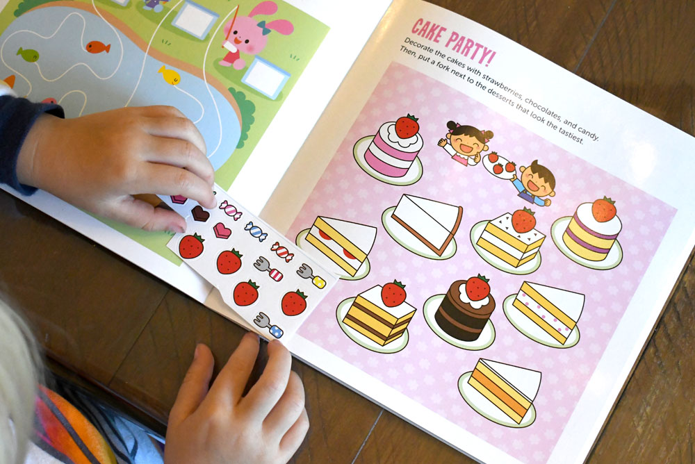 I Can Do That! Stickers interactive kids workbook