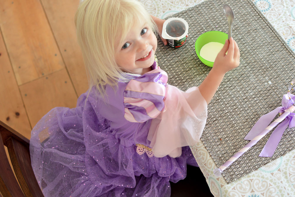 How to Be an Everyday Princess - choose healthy foods