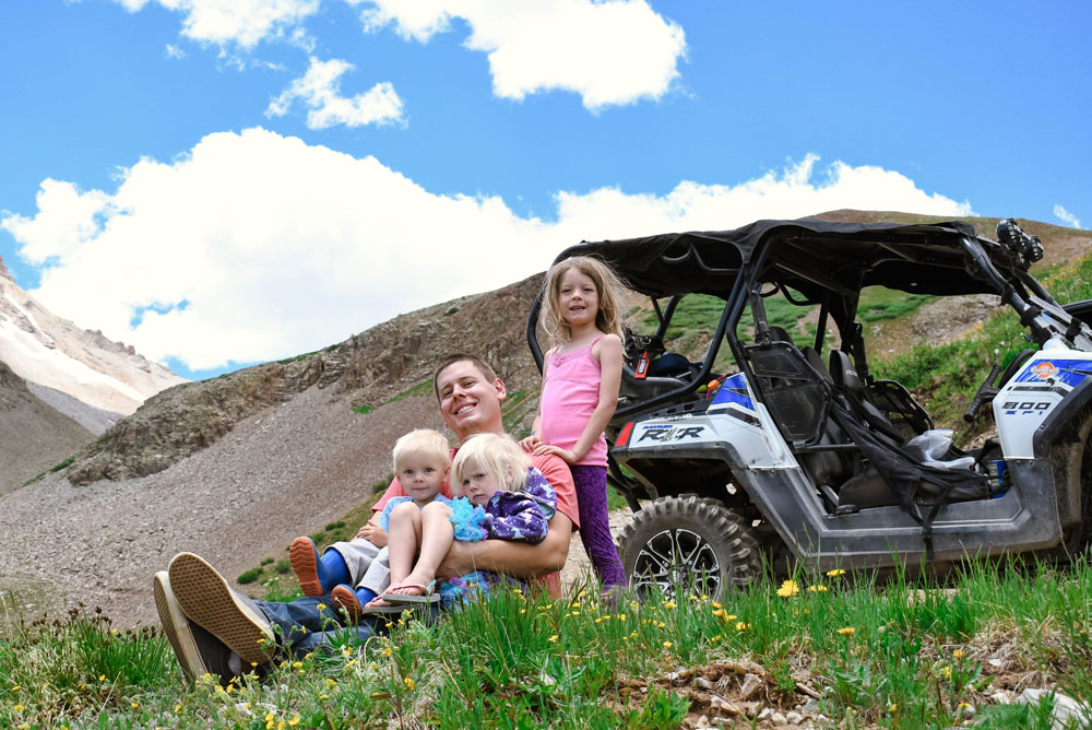 Family Off-Roading Mountain Adventure in Ouray Colorado