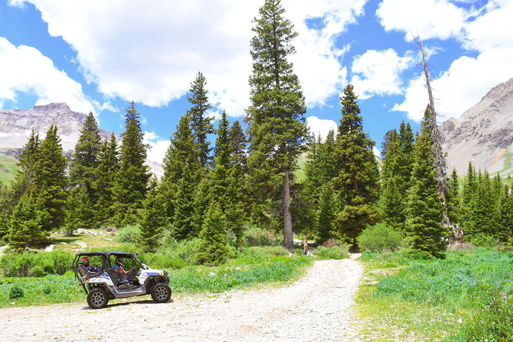 Fun Off-Roading Adventure in Ouray Colorado