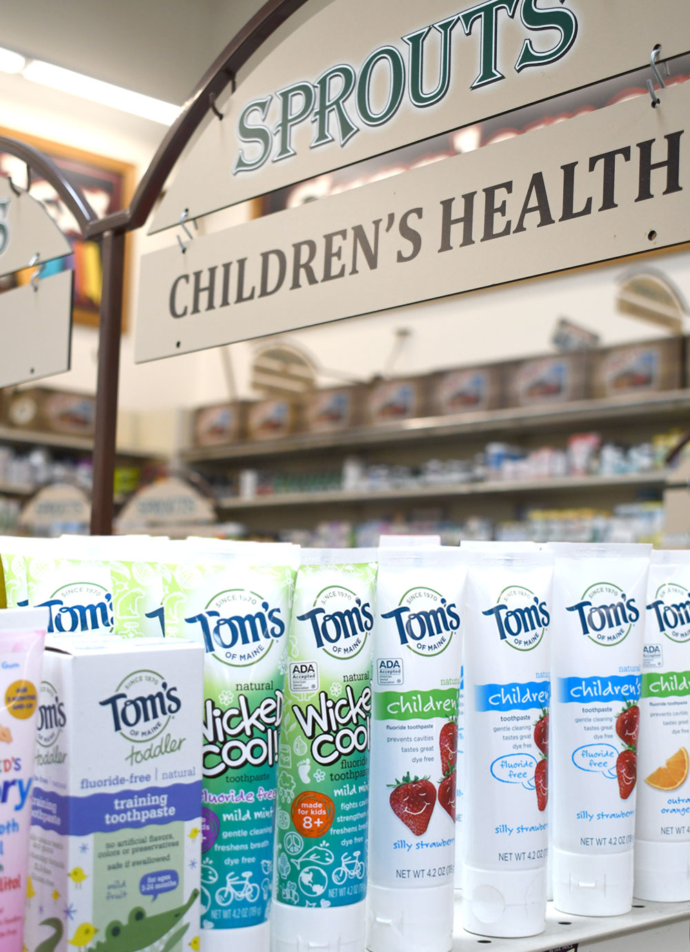 Sprouts Farmer's Market Tom's of Maine Wicked Cool! fluoride toothpaste