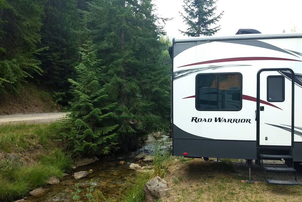Find a Pretty Camping Spot in Wallace Idaho