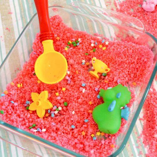 DIY Sugar Sand Kids' Activity