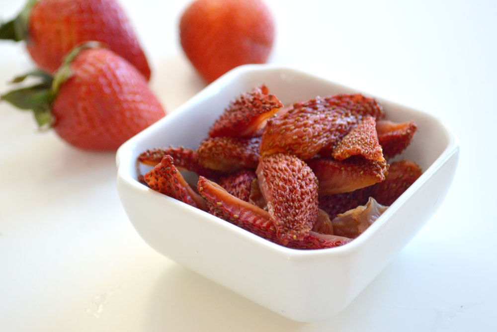Homemade Strawberry Fruit Snacks