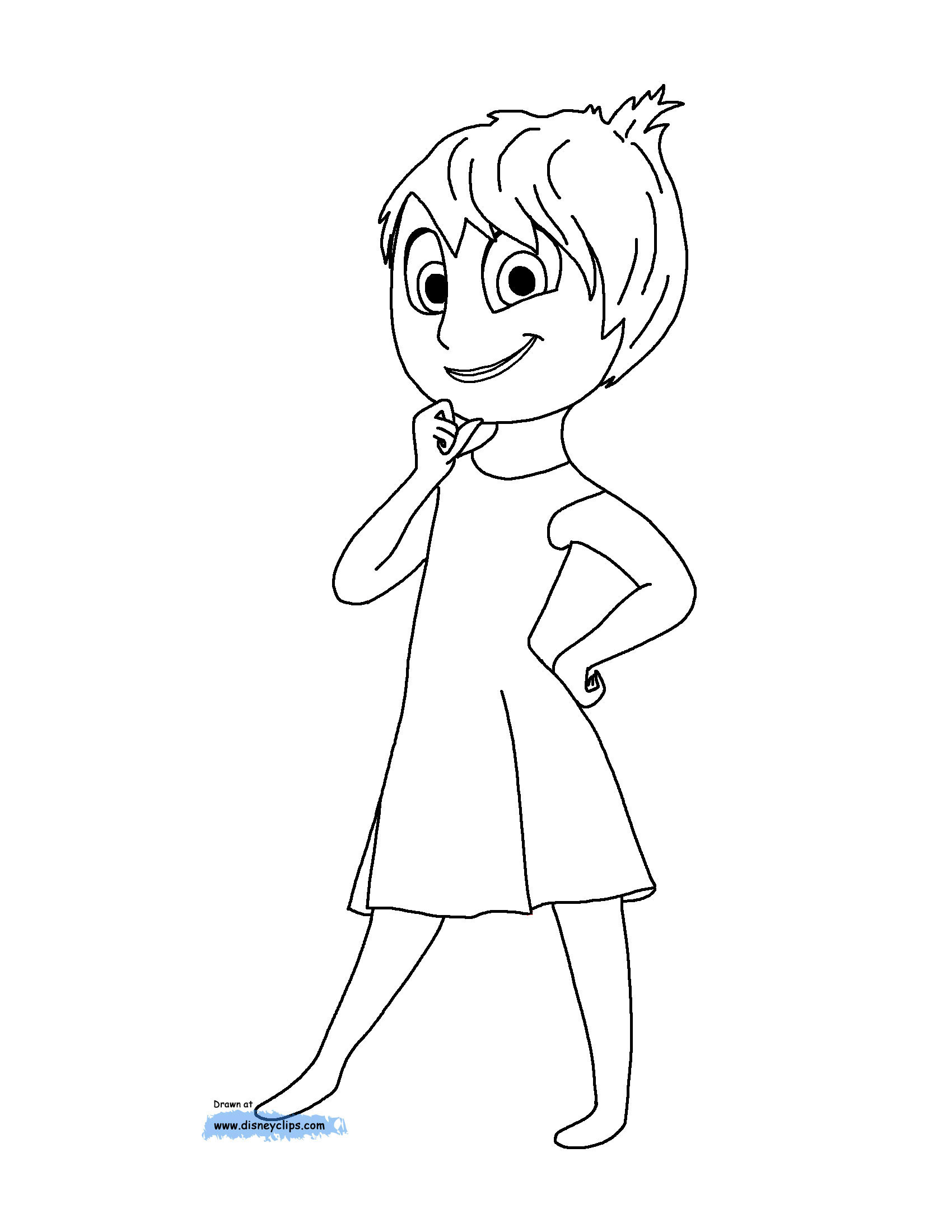Disney's Inside Out Movie & Coloring Pages - Create. Play ...