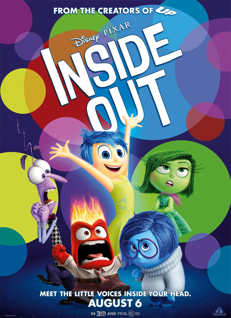 Disney's Inside Out Movie & Coloring Pages
