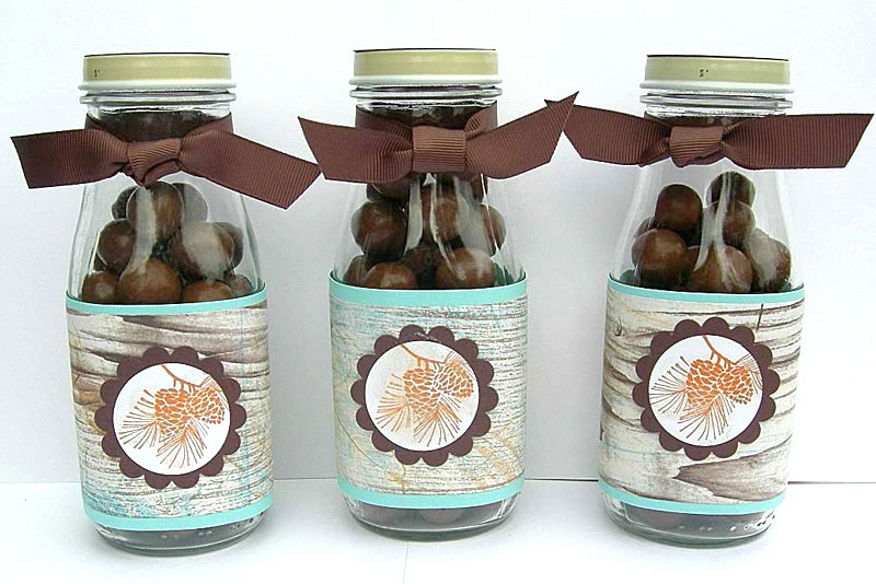 Easy DIY Frappuccino bottle craft candy jar