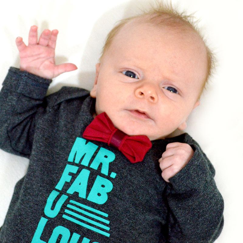 No-Sew Baby Bow Ties