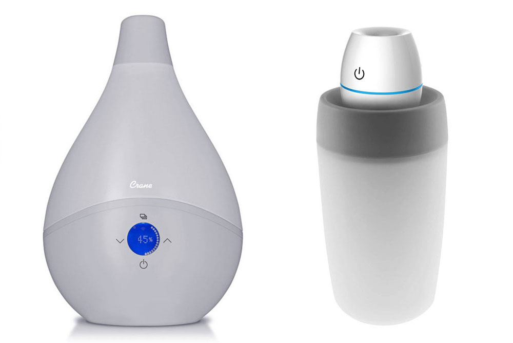 Crane smartDROP & Travel Humidifiers