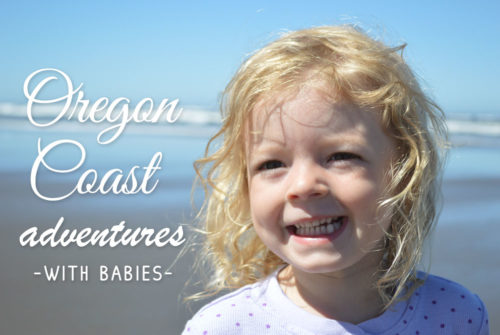 Oregon Family Vacation with Toddlers at the beach - Mommy Scene