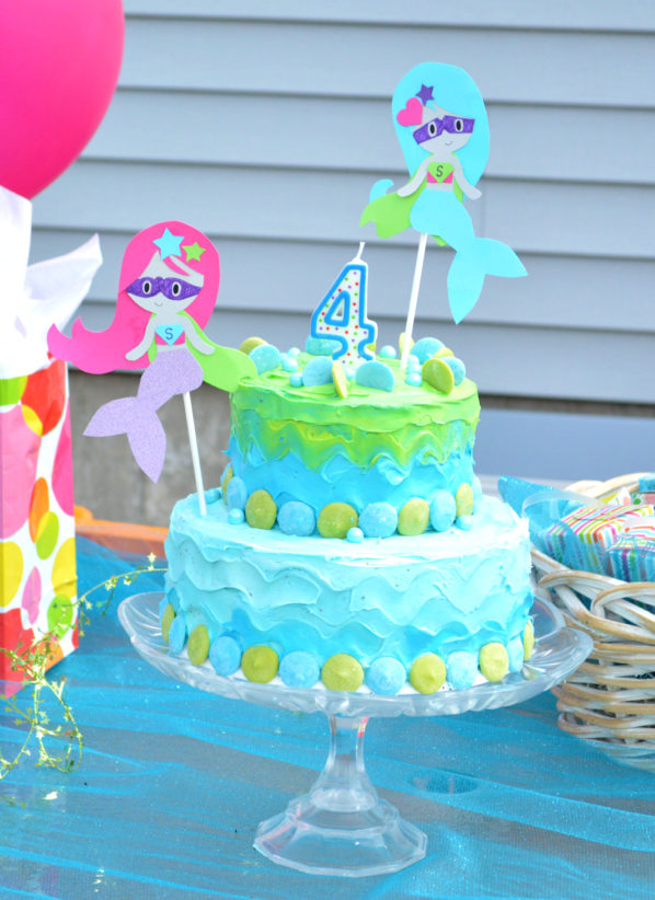 Superhero-Mermaid Kid's Birthday Party