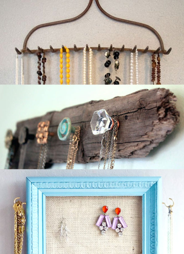 DIY Jewelry Storage Ideas