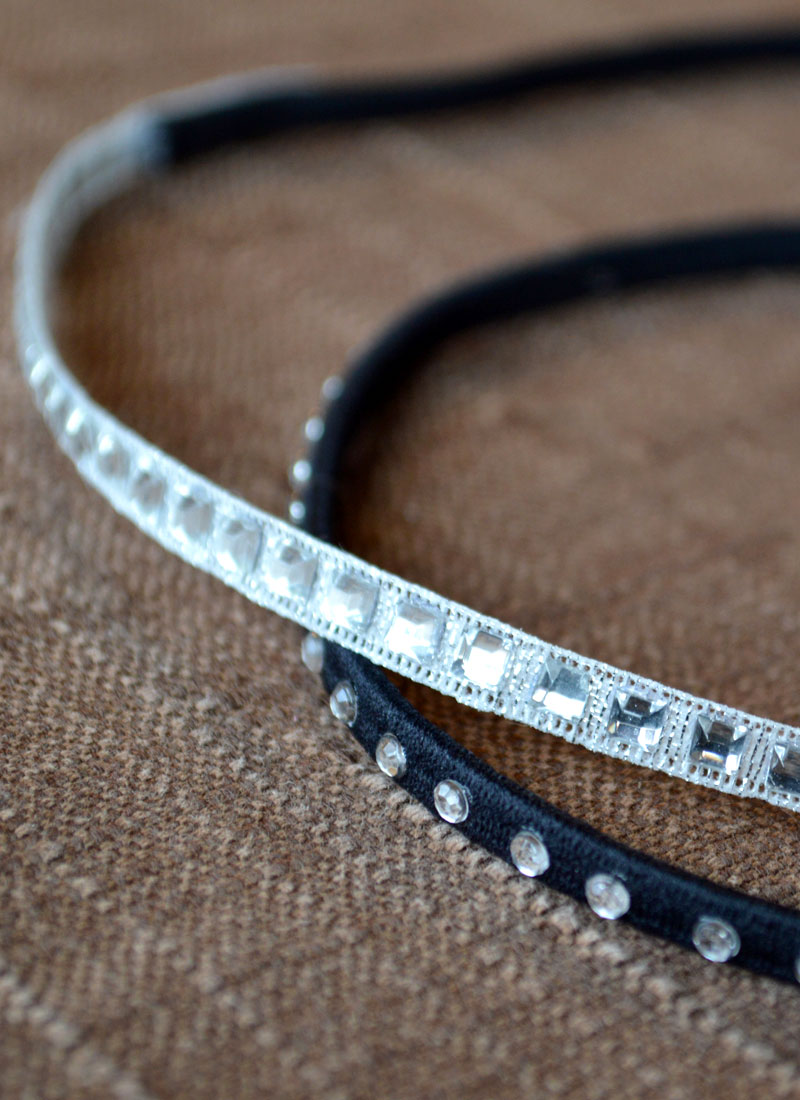 DIY Rhinestone Headbands