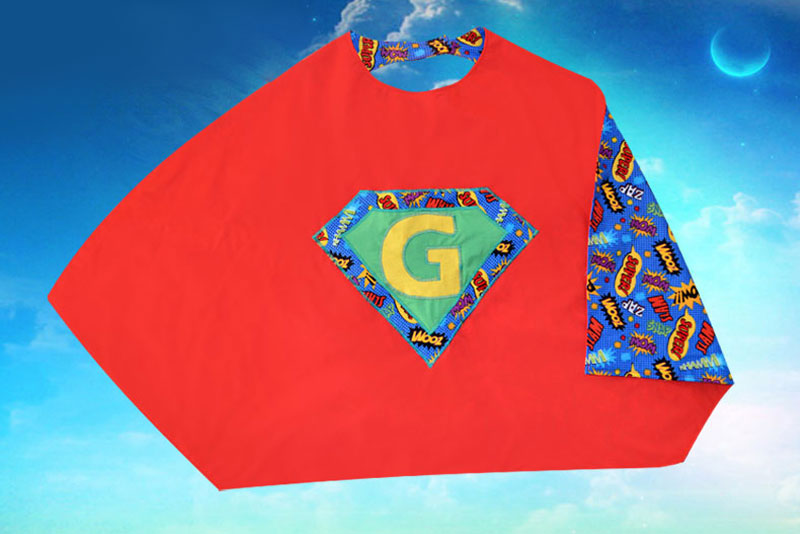 how to make a superhero cape at home