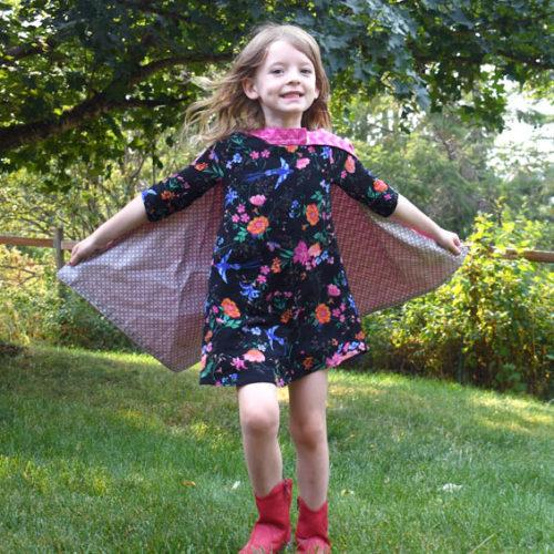 DIY Superhero Capes Sewing Project