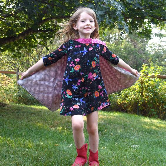 DIY Superhero Capes Sewing Project