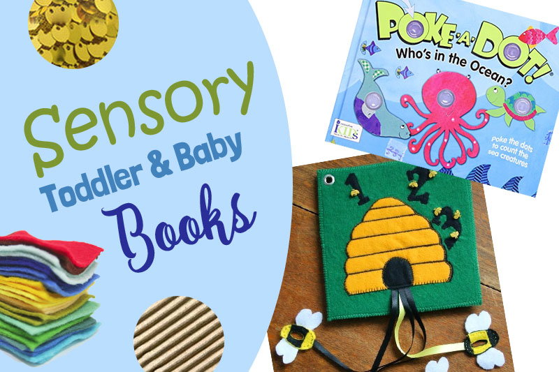 5 Sensory Books for Toddlers