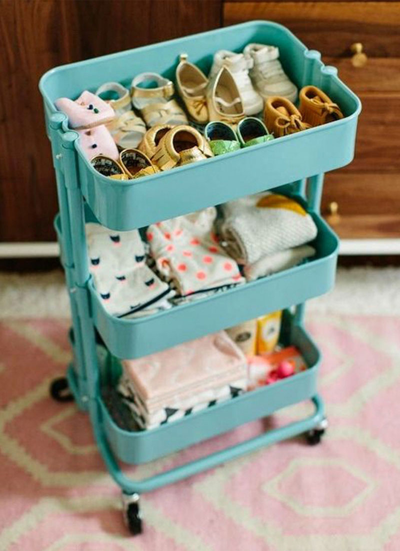 Creative Ways to Organize Baby Clothes - Ideas and Tips