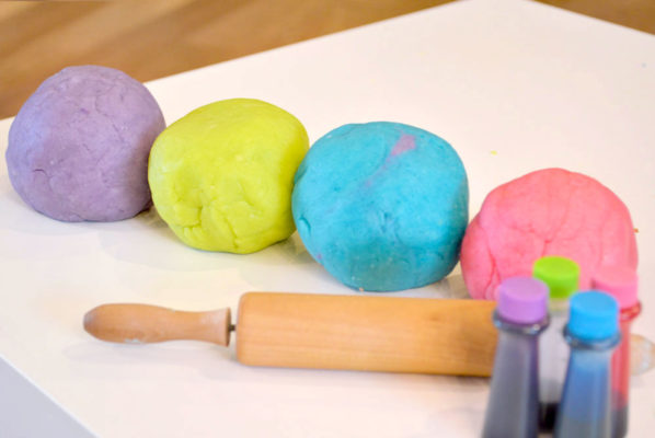 Homemade Salt Playdough for Kids