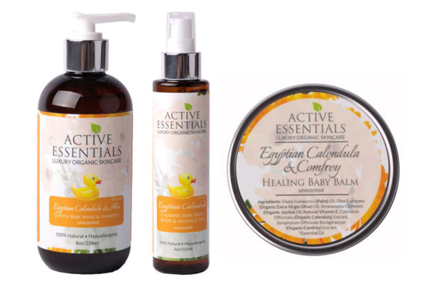 Active Essentials Luxury Organic Baby Care