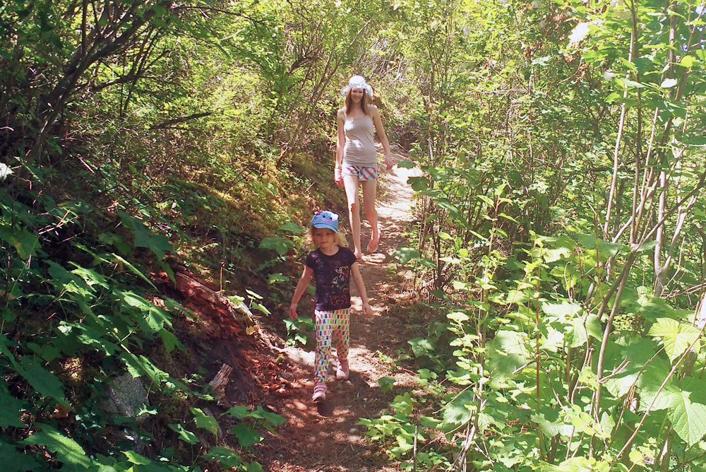 Easy kid-friendly forest hikes - Traveling with Kids