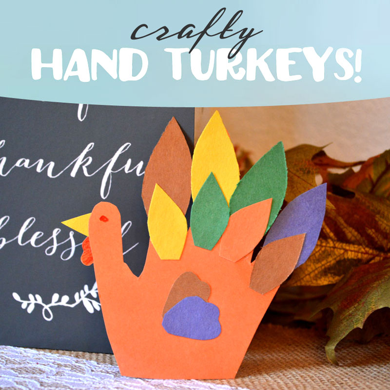 9 Awesome Fall-Inspired Kids Turkey Crafts
