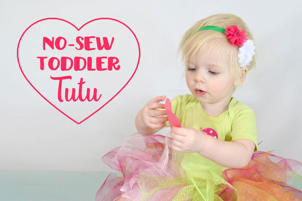 No-Sew Toddler Tutu