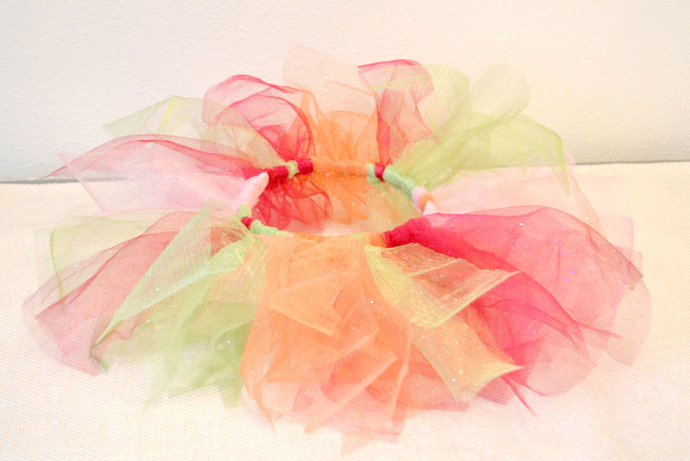 Easy No-Sew Tulle Tutu how to tutorial