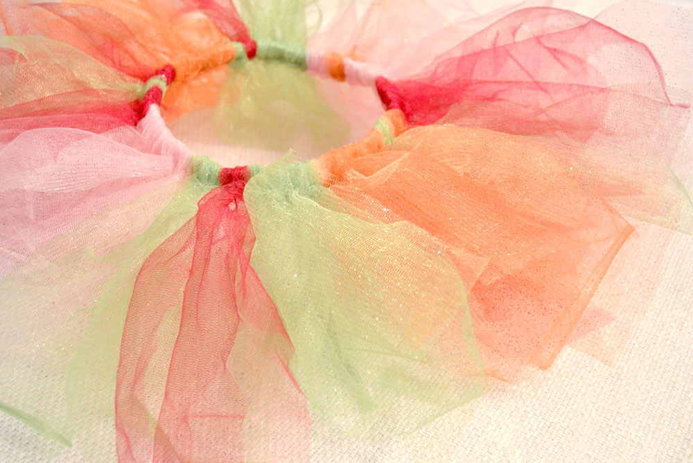 No-Sew Tulle Tutu for babies and kids DIY