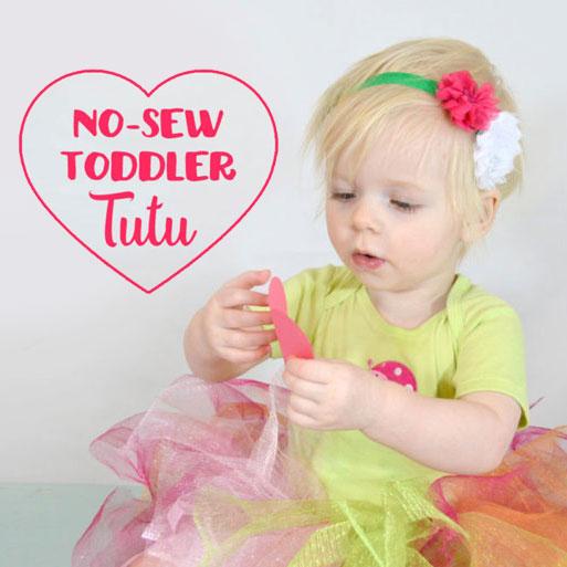 No-Sew Toddler Tutu