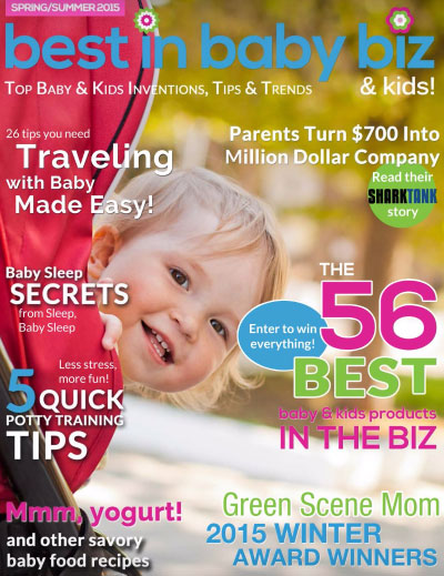 Green Scene Mom Winter Award Winners Best in Baby Biz Magazine