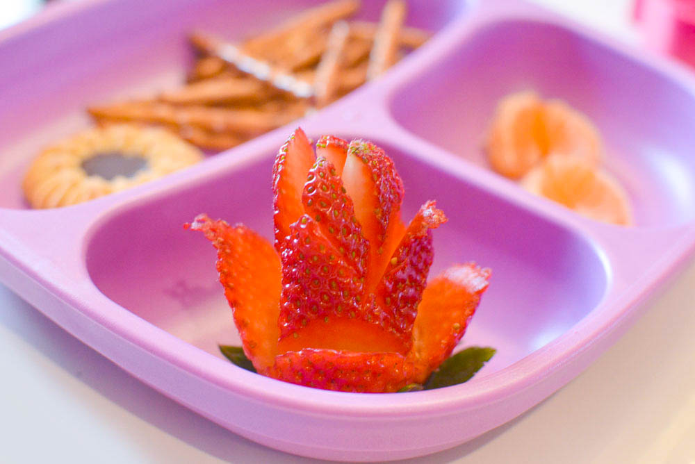 Cute lunch ideas for kids strawberry roses