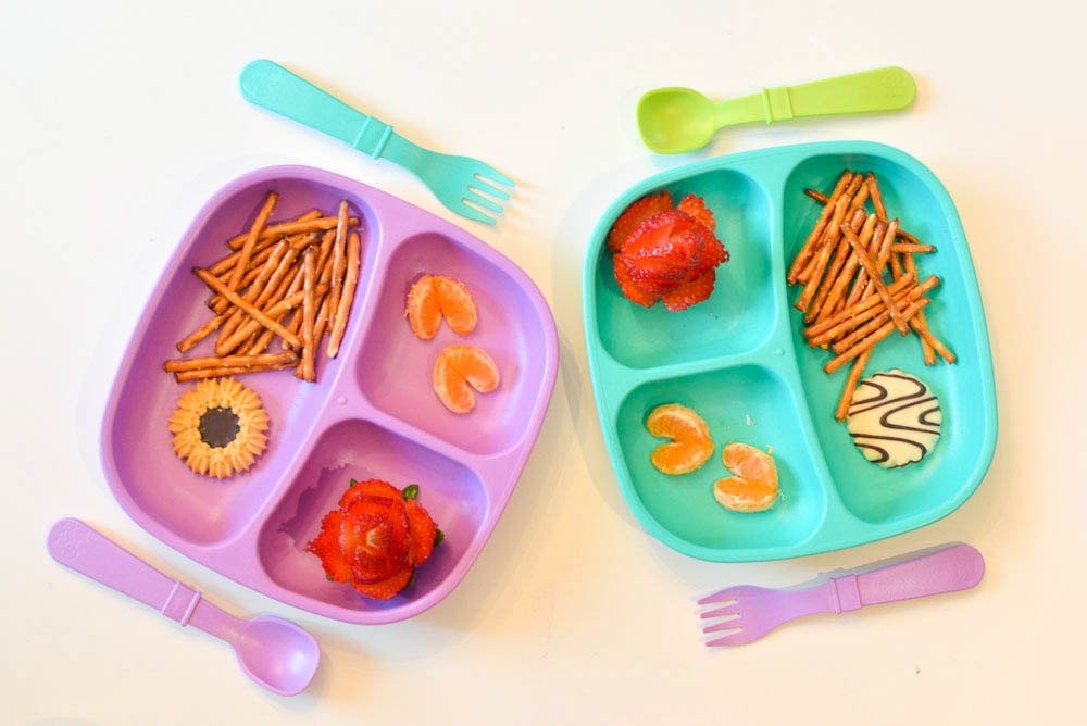 Cute lunch ideas for kids Re-play divided plates