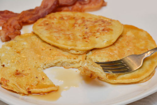 Kid Friendly Cottage Cheese Pancakes - Mommy Scene